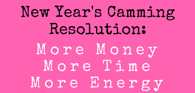New Year's camming resolutions