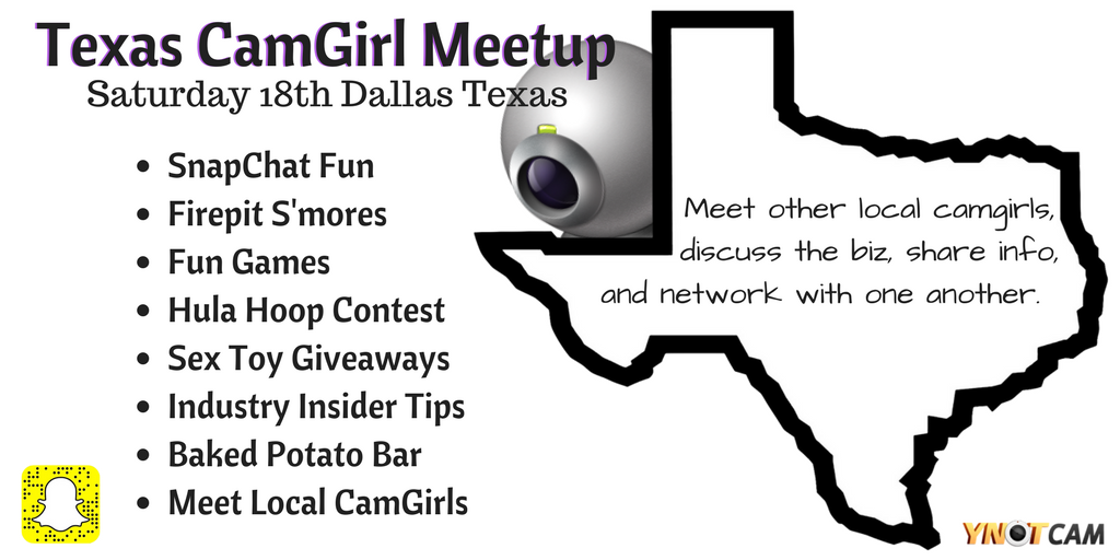 Texas CamGirl Meetup Dallas, Feb. 18, 2017