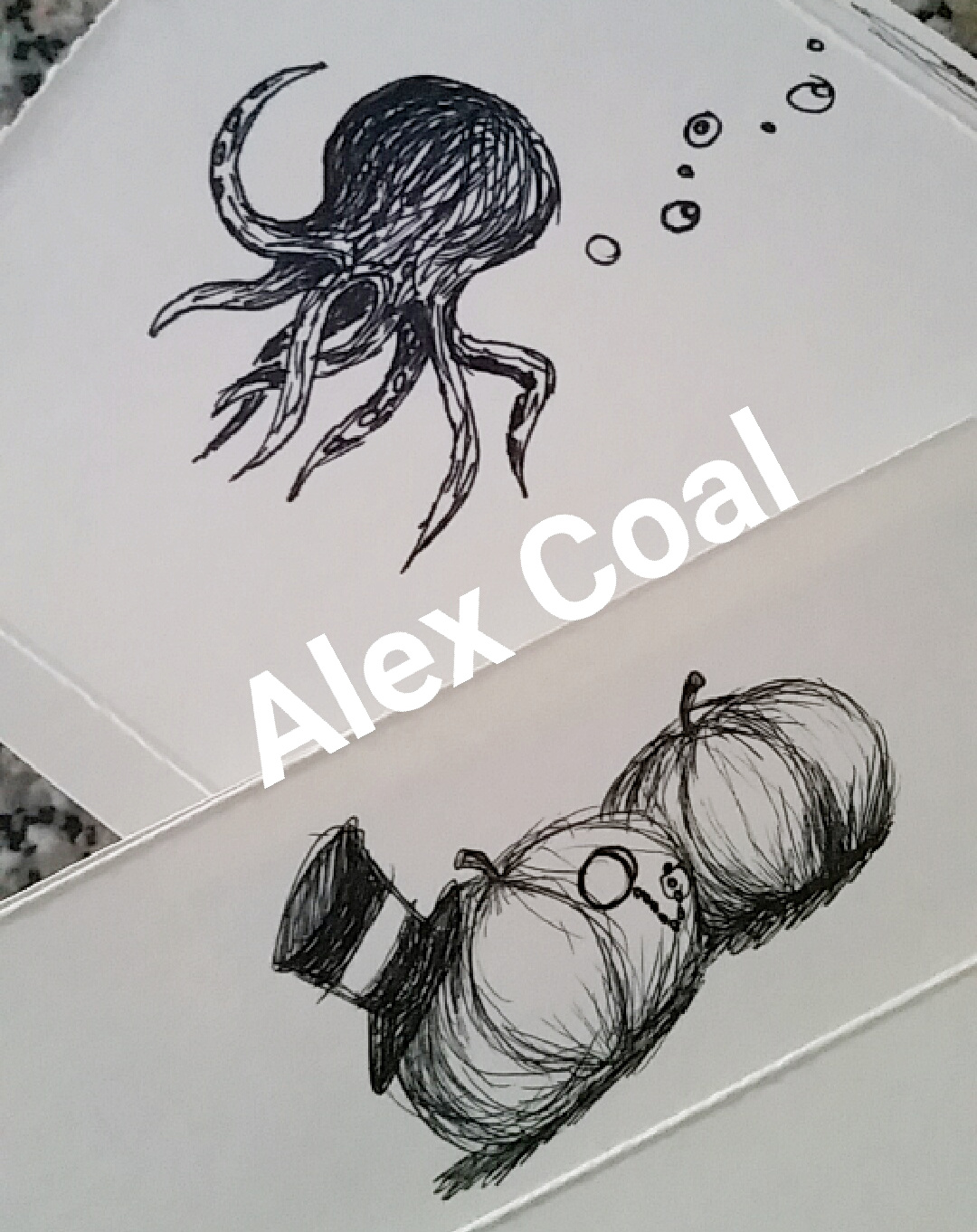 Alex Coal artwork