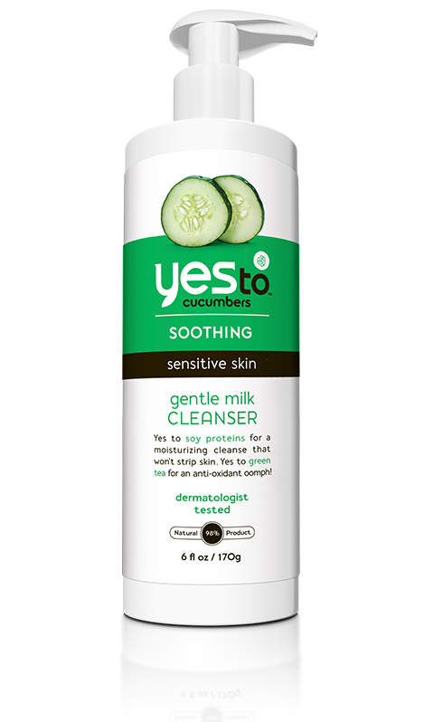 Yes To Cucumber Gentle Milk Cleanser